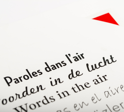 paroles dans l'air