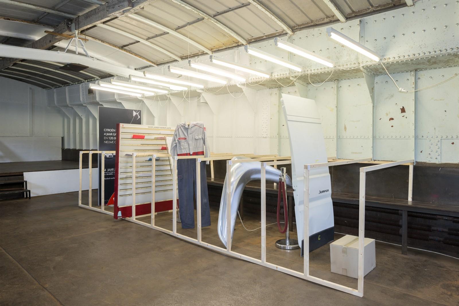 proposition d'archive pour le nouveau musée d'art contemporain, partie 1