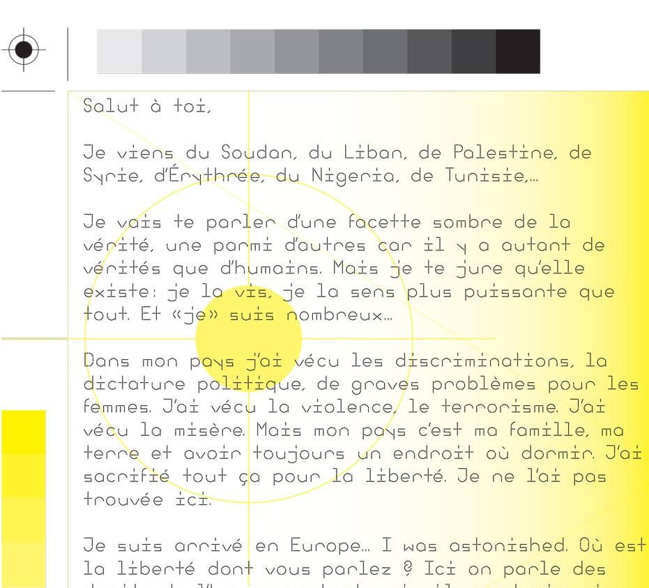 appel à figurants de la part de réfugiés bruxellois