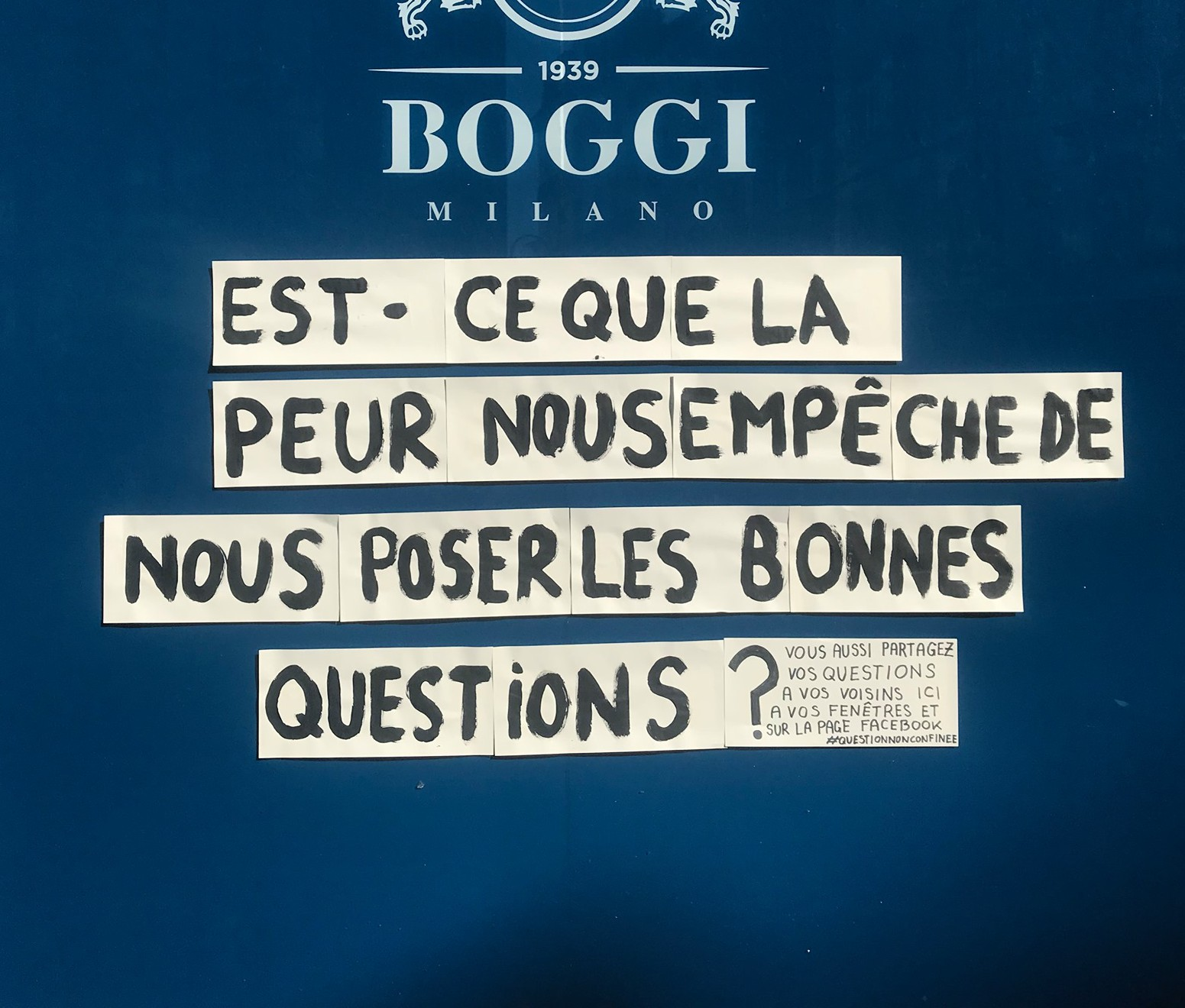 question non confinée
